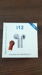 Mobile White i12 TWS Wireless Earphone