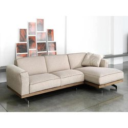 Contemporary Wooden Sofa Set