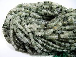Green Rutilated Quartz Beads