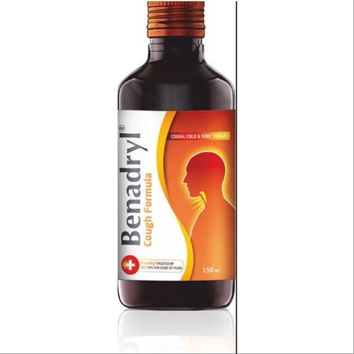 Benadryl Cough Syrup - Benadryl Dry Cough Syrup Wholesaler