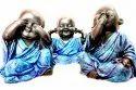 Raisin Happy Monks - Set Of 3