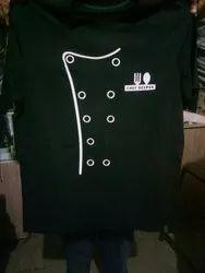 Customize Cotton Collar T- Shirts Printing Service