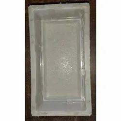Silicone Plastic 8x4 Brick Mould