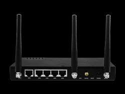 Black 2G Dual Sim 4G LTE WAN Router, IR-1100-4G-D