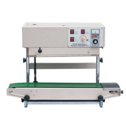 Mild Steel Pouch Sealer Machines, 50 W, Packaging Type: Carton