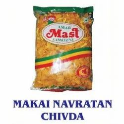Makai Navratan Chivda Namkeen, Packaging Size: 180 Gm, 500 Gm And 900 Gm