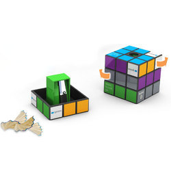 Rubiks Pencil Sharpener
