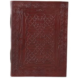 Celtic Design Leather Cover Journal Notebook Diary