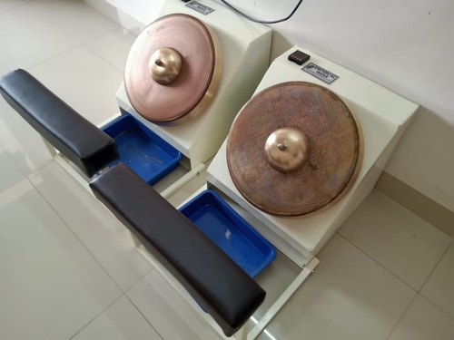 Rolling Mechanical Kansya Thali Foot Massager Machine 200 Watt Rs 28000 Per Machine Id 21773521912