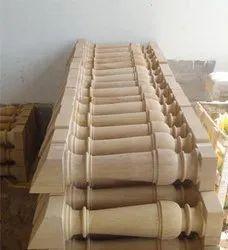 Sandstone balustrade