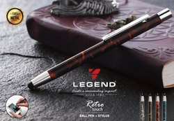 0.7mm Stylus Metal Pen
