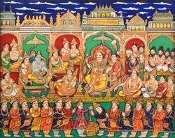 Hand Made PHAD Rajasthani Paintings