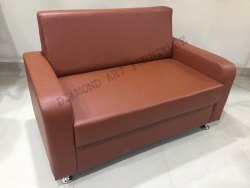 Restaurant Office Home Cushion Sofa, Size: 6ft