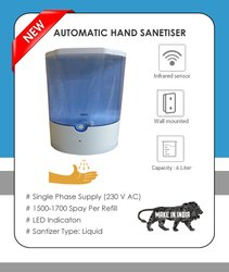 Automatic Sanitizer Dispenser (Sensored)