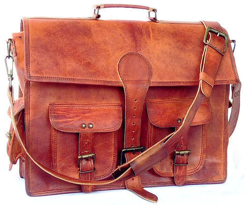 5da71cacaf Vintage Leather Briefcase