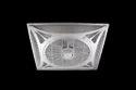 Air Circulation Recessed Fan