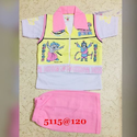 Kids Collar T Shirt with Half Pant