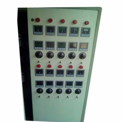 Mild Steel Three Phase PLC Control Panel