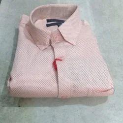 Mens Cotton Collar Neck Plain Shirt