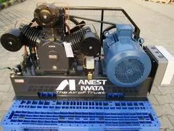 Base Mounted Lubricated Air Compressor