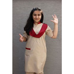 Plain Salwar Kameez School Uniform