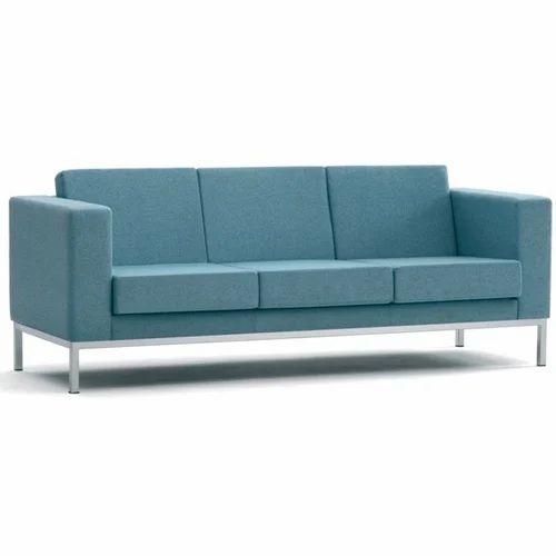 Light Blue Reception Sofa Rs 18500
