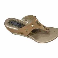 Party Wear Suede Ladies Fancy Sandal, Size: 7 To 11