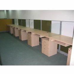 Wooden Modular Workstations