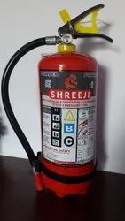 Shreeji Red Fire Safety Extinguisher for School, Capacity: 4Kg