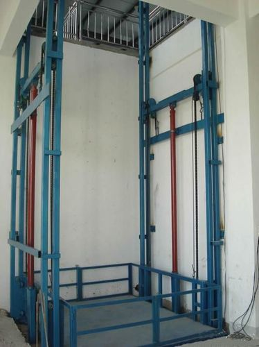 Stainless Steel Goods Lift Schematic Diagram Capacity 4 5 Ton Id