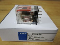 Omron Miniature Power Relays - MY2N-GS AC220/240