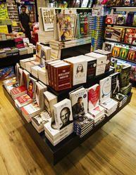 Books Display Podiums