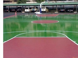 Acrylic Sports Flooring Services