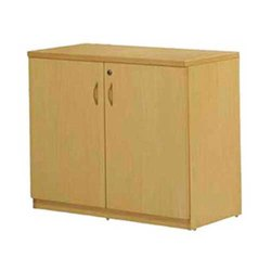 Cabinet Home Wooden Storage Cupboard, Polished