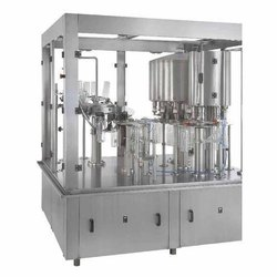 Semi Mineral Water Filling Machine