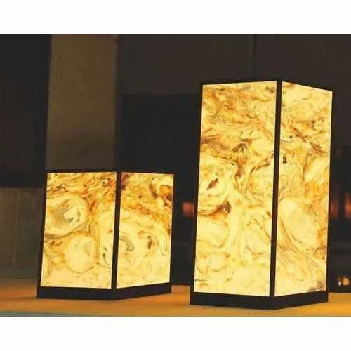 Yellow Alabaster Sheet Size Dimension 8x4 Feet Rs 1050 Square