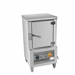 Electric Stainless Steel Idli Stemer, For Hotel, 220 V