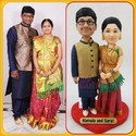 3d Selfie Miniature - Wedding 3d Figurine