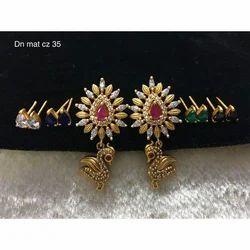 Crystal Changable Earrings, Packaging Type: Box