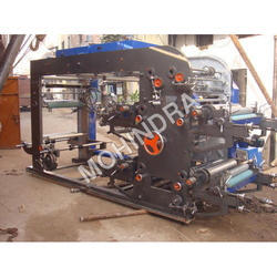 Mild Steel Mohindra Flexo Printing Machine, For Paper, Number Of Colors: 8