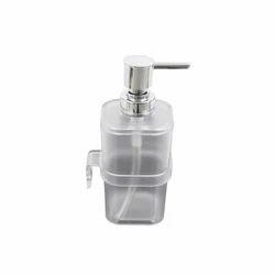 不锈钢和塑料手动皂液机,尺寸/尺寸:280ml