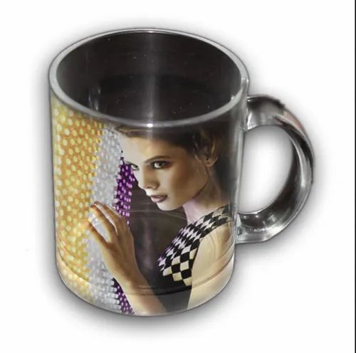 Transparent Glass Mug