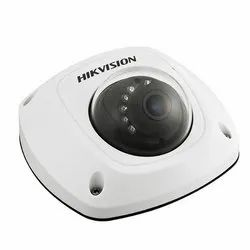 Hikvision 1.3 Megapixel CMOS Network Mini Dome Camera, For Security