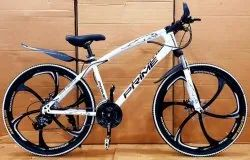 21 Gear Prime MTB Cycle White Color