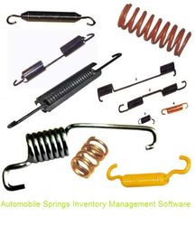 Automobile Springs Inventory Management Software