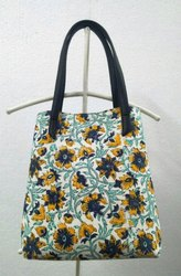Hand Block Print Cotton Bag