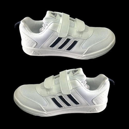 Men White Adidas Velcro Sports Shoes b55d3816b