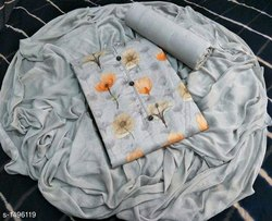 Satin Cotton Suit