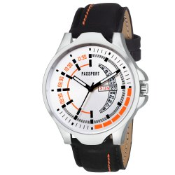 Round Mens Analog Watch
