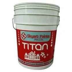 Skyart High Gloss Titan Extraneous Emulsion, Packaging Type: Bucket